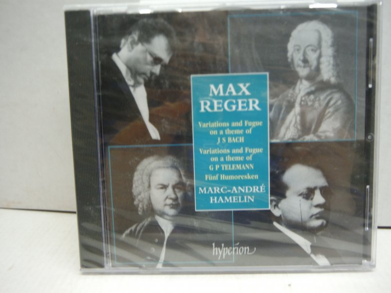 Reger: Variations and Fugue on a Theme of J. S. Bach / Humoresques / Variations