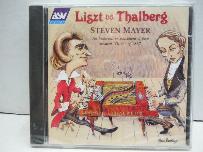Liszt vs. Thalberg: An Historical Re-Enactment of their Duel of 1837