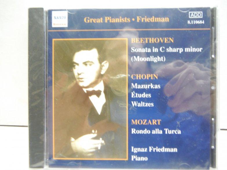 Great Pianists: Friedman