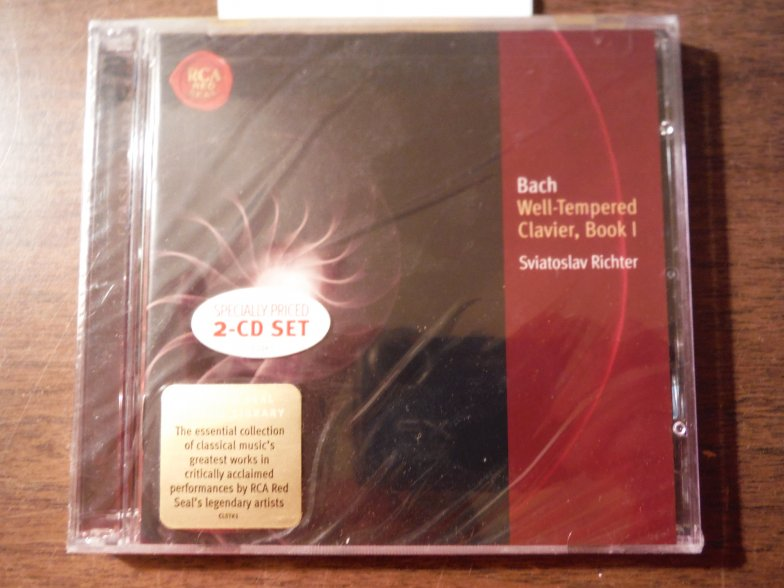 Bach: The Well Tempered Clavier, Book 1