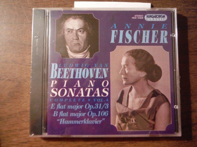 Complete Piano Sonatas IV: Op.31/3, 106