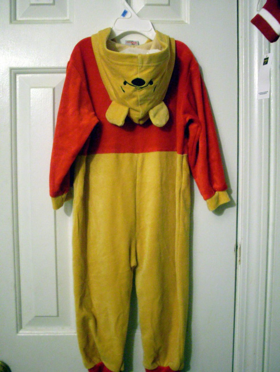 Disney Pooh Hooded coverall, Pajama 6-12 mo NWT