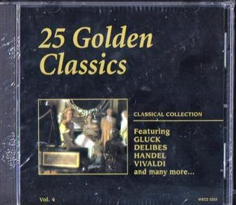 25 Golden Classics Classical Collection Vol 4 CD