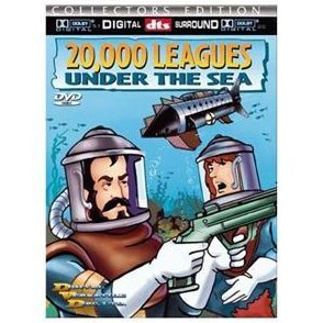 20,000 Leagues Under the Sea 2000 DVD