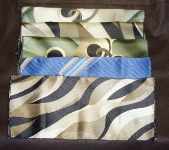 Image 0 of Mens Print Suit Pocket Hanky 10 X 10  Lot of 5
