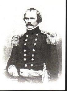 Civil War Postcard General Albert Sidney Johnston CSA