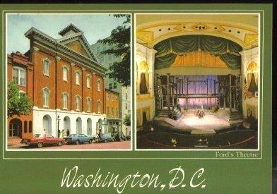 Fords Theatre Washington D.C. Postcard