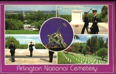Arlington National Cemetary, Arlington, Va Washington DC. Postcard
