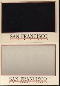 San Francisco Area Postcards Lot of 2 Group E Novelty California