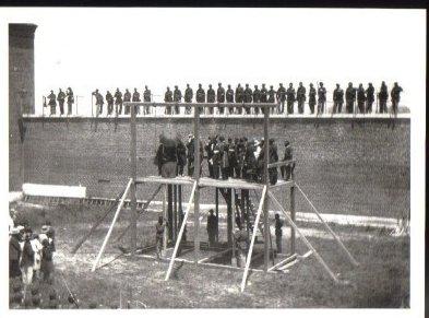 Civil War Photo Postcard The Lincoln Conspirators