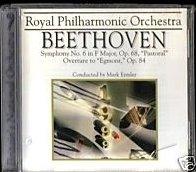 Beethoven Symphony no 6 Pastorale, Egmont Overture CD