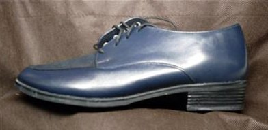 '.Munro Leather Oxford 7 M Navy.'