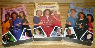 Jenny Craig Personal Fitness Videos Lot 3 VHS