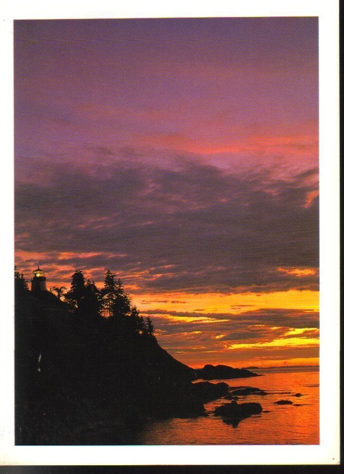 Owls Head Lighthouse Maine Postcard