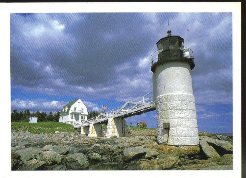 Marshall Point Lighthouse, Maine Postcard