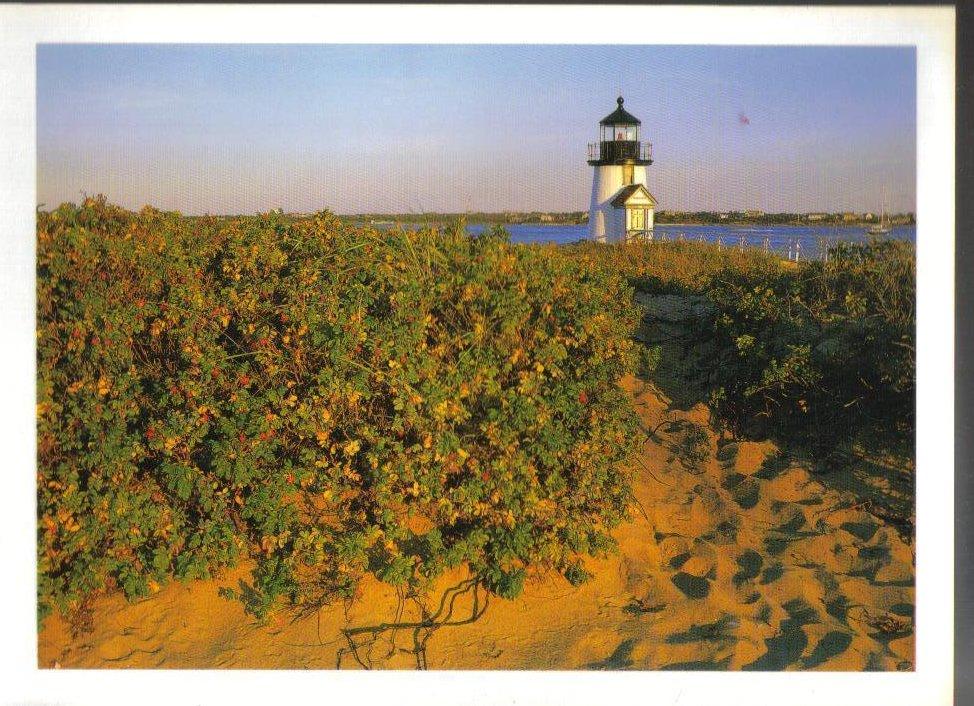 Brant Point Lighthouse, Nantucket Island, Massachusetts Postcard