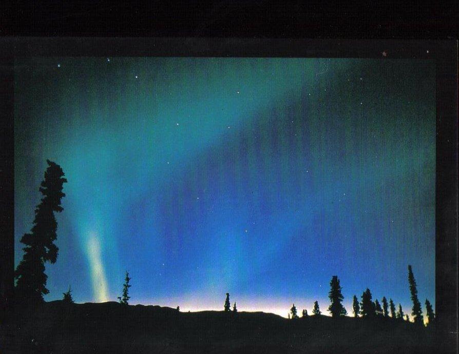Aurora Borealis Weather Phenomenon Postcard