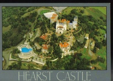 California Area Tourism Hearst Castle San Simeon Postcard