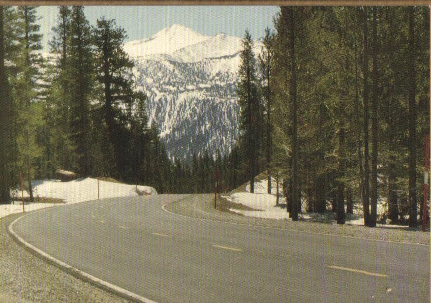 Mono County, California - Postcard