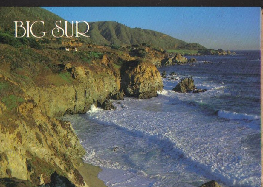 Big Sur California Postcard