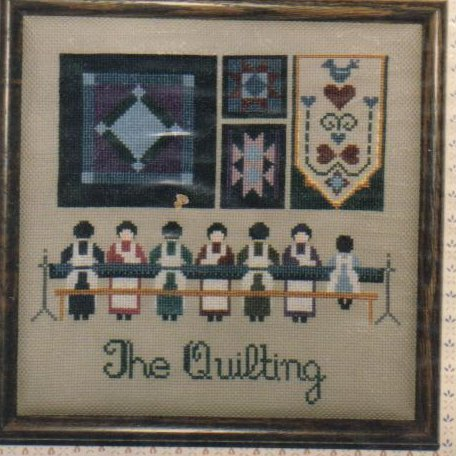 Image 0 of The Quilting Needlepoint Pattern NIP Crafts