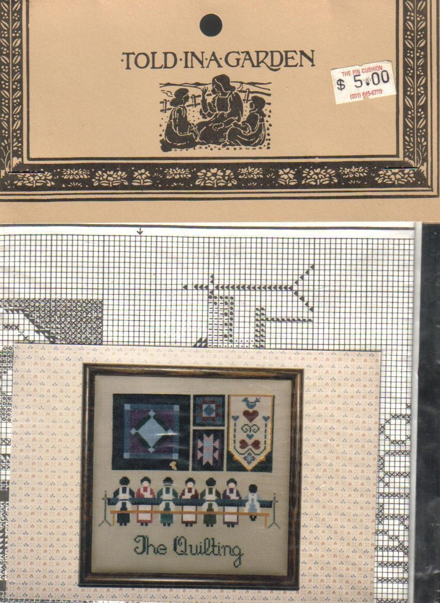 Image 1 of The Quilting Needlepoint Pattern NIP Crafts