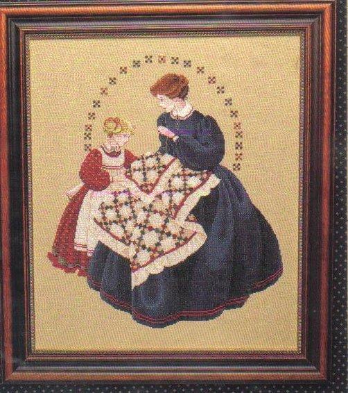 The Victorian Quilter Cross Stitch Pattern Marilyn Leavitt-Imblum