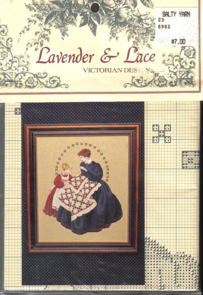 Image 1 of The Victorian Quilter Cross Stitch Pattern Marilyn Leavitt-Imblum