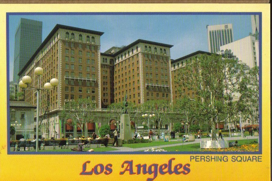 Los Angeles, California Postcard