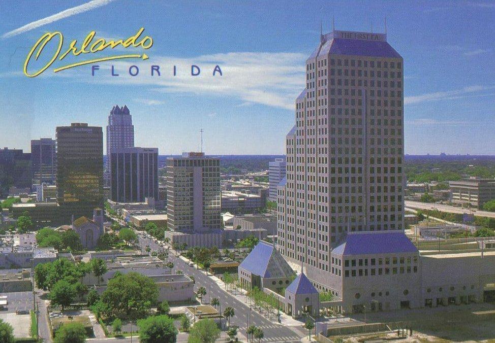 Dupont Center Business Complex, Orlando Florida Postcard