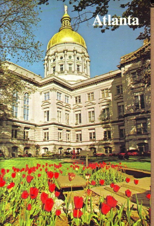State Capitol, Atlanta, Georgia Postcard