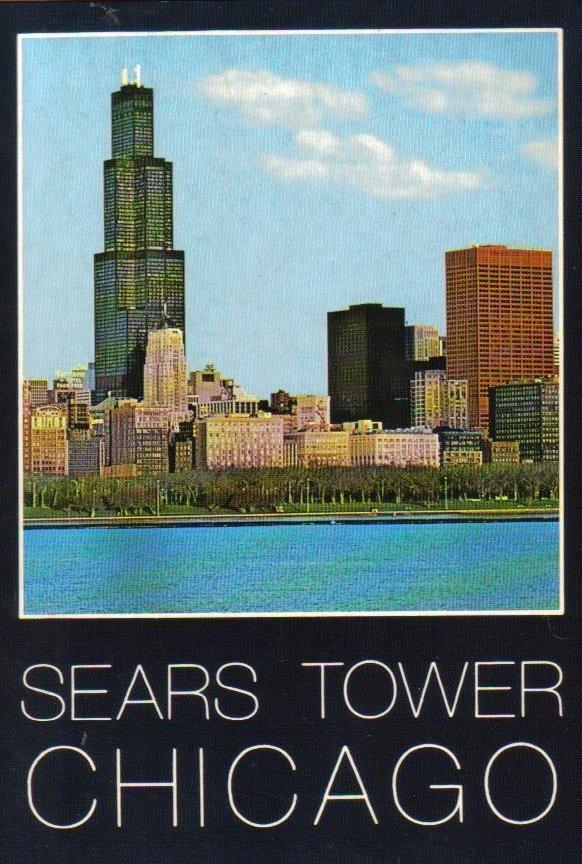 Sears Tower Chicago, Illinois Vintage Postcard