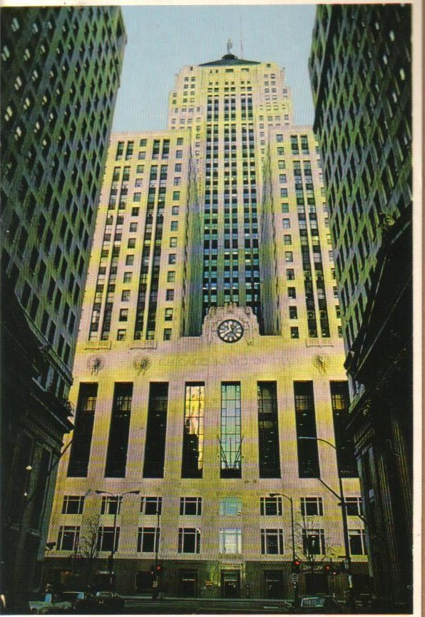 Board of Trade Chicago, Illinois Postcard
