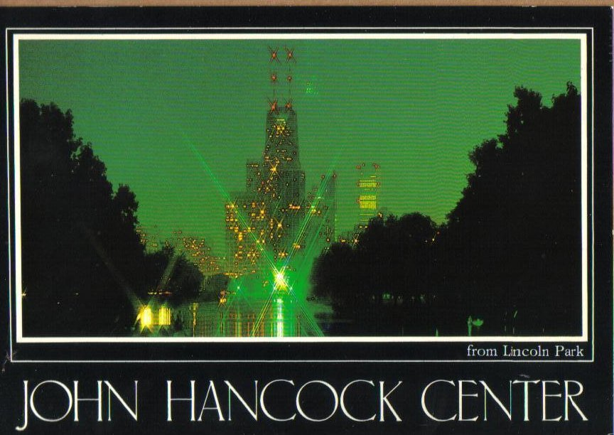 John Hancock Center Chicago, Illinois Postcard