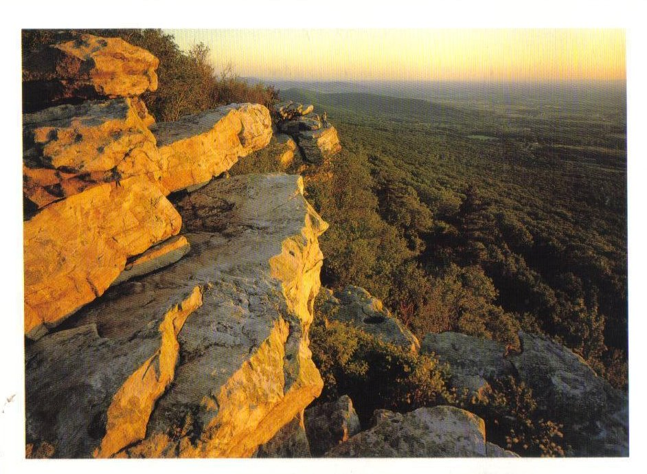 Black Rock Overlook, Appalachian Trail, Maryland Postcard