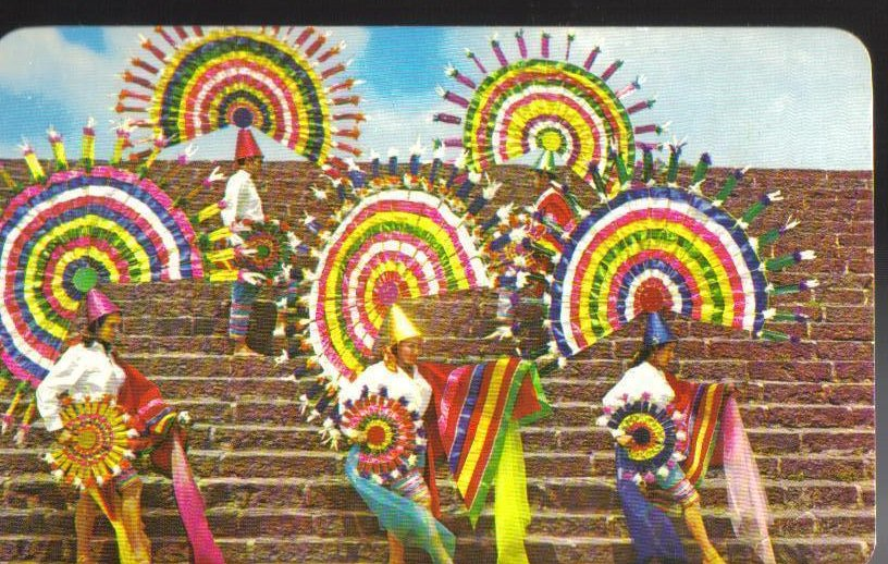 Quetzal Dance From the State of Puebla, Mexico Postcard