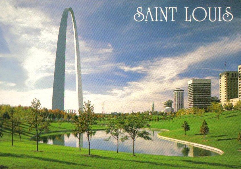 Gateway Arch St. Louis Missouri Postcard