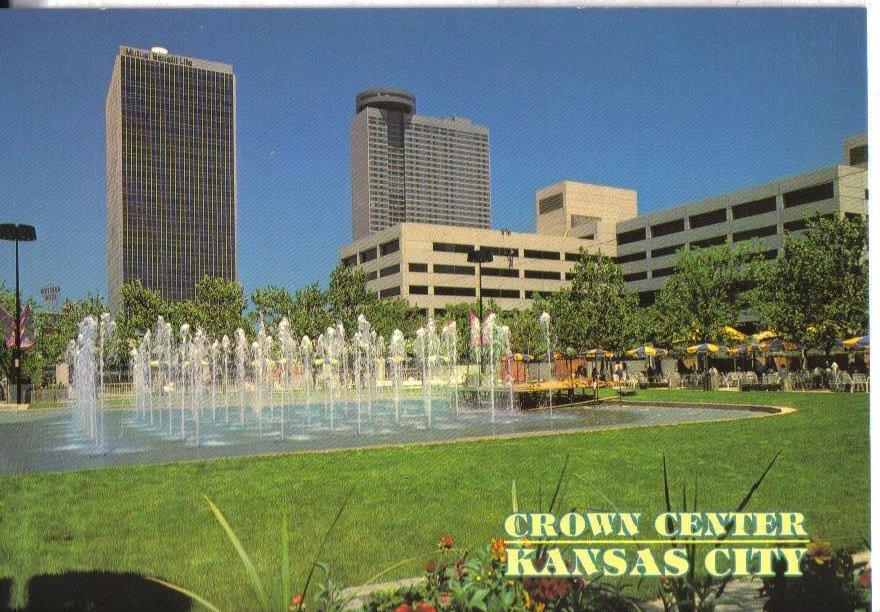 Crown Center Kansas City, Missouri  Postcard