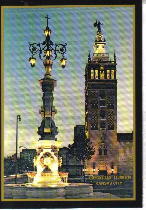 Image 0 of Giralda Tower, Kansas City, Missouri Postcard