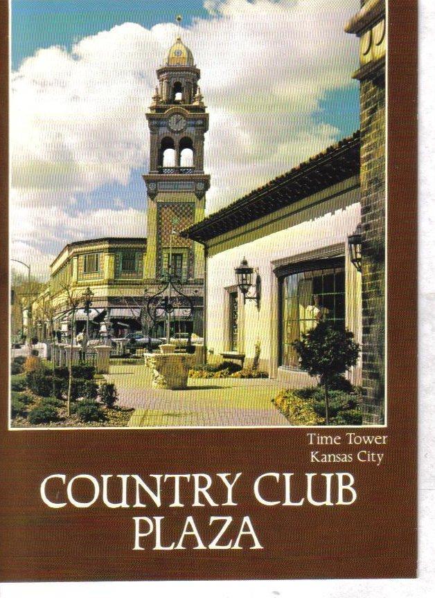 Country Club Plaza Time Tower Kansas City Missouri Postcard