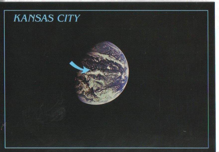 Kansas City, Missouri Postcard Earth Image