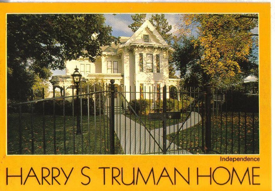 Harry S.Truman Home Independence Missouri Postcard