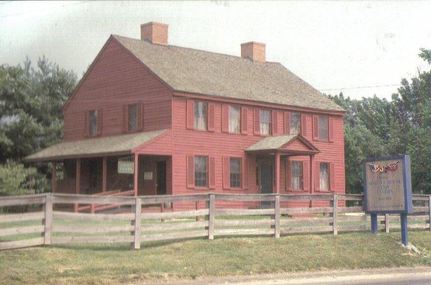 Mary Surratt House Lincoln History Postcard Clinton MD