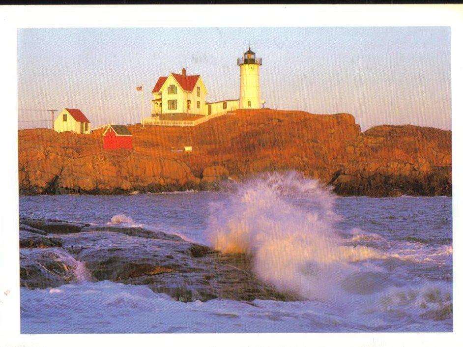 Nubble Lighthouse Maine Postcard