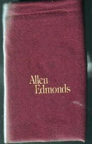 Image 0 of Shoe Polishing Cloths Allen Edmunds Burgundy Lot of 15