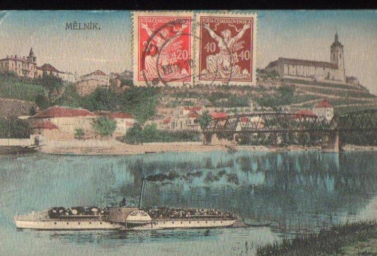 Melnik Bulgaria Antique Postcard 1920