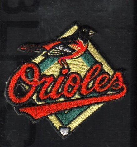 Image 0 of Baltimore Orioles Baseball Patch New