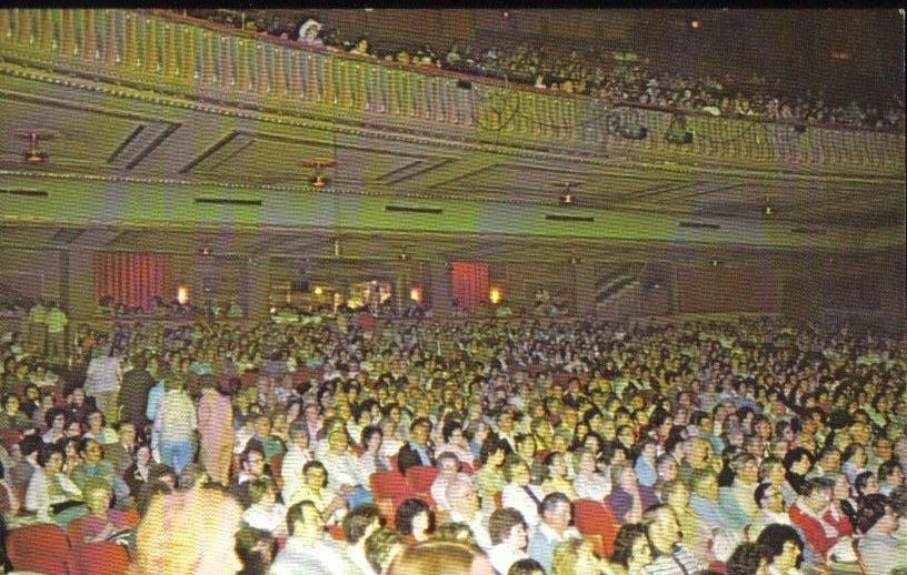 Capitol Music Hall, Wheeling, West Virginia Vintage Postcard