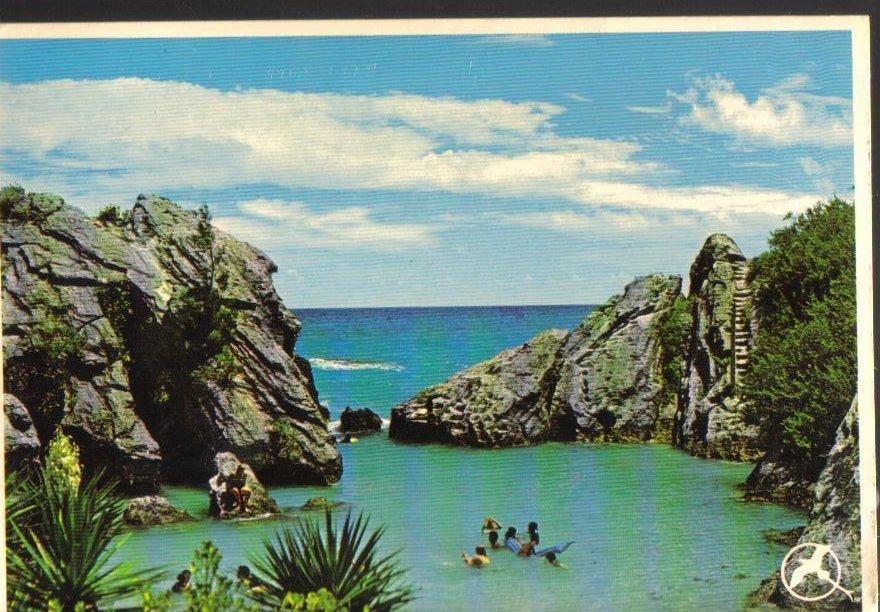 Bermuda Jobsons Cove Vintage Postcard