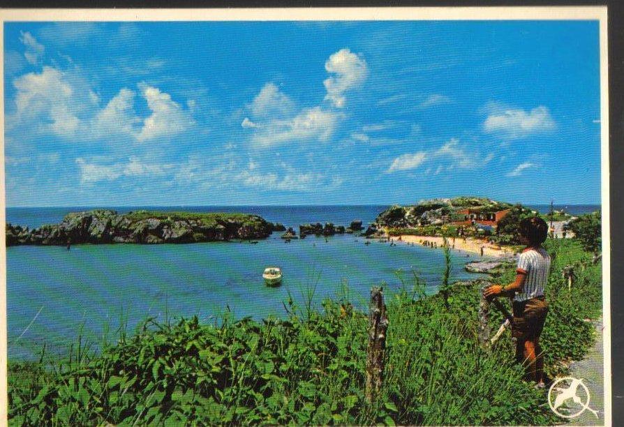 Bermuda Tobacco Bay Vintage Postcard